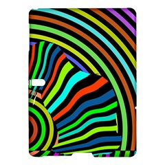 Colorful Cat Samsung Galaxy Tab S (10 5 ) Hardshell Case  by AnjaniArt