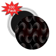 Free Dot Spiral Seamless 2 25  Magnets (100 Pack)  by AnjaniArt