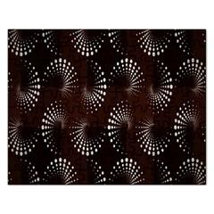 Free Dot Spiral Seamless Rectangular Jigsaw Puzzl by AnjaniArt