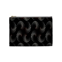Free Dot Spiral Seamless Cosmetic Bag (medium)  by AnjaniArt