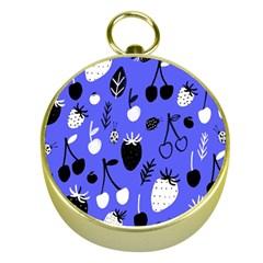 Fruit Strobery Leci Purple Gold Compasses by AnjaniArt