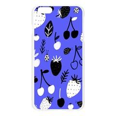 Fruit Strobery Leci Purple Apple Seamless iPhone 6 Plus/6S Plus Case (Transparent) by AnjaniArt