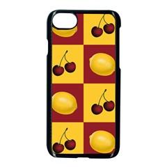 Fruit Pattern Apple Iphone 7 Seamless Case (black) by AnjaniArt