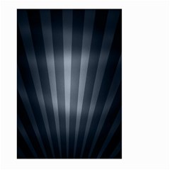 Grey Black Large Garden Flag (two Sides) by AnjaniArt