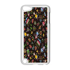 Happy Family Flower Home Sweet Bee Apple Ipod Touch 5 Case (white) by AnjaniArt