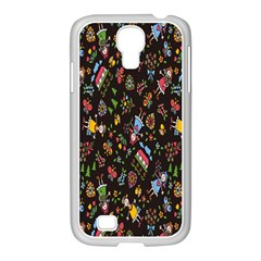 Happy Family Flower Home Sweet Bee Samsung Galaxy S4 I9500/ I9505 Case (white) by AnjaniArt