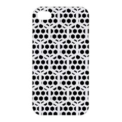 Seamless Honeycomb Pattern Apple Iphone 4/4s Hardshell Case