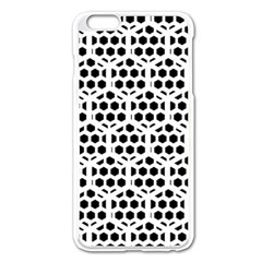 Seamless Honeycomb Pattern Apple Iphone 6 Plus/6s Plus Enamel White Case by Amaryn4rt