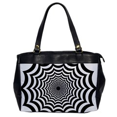 Spider Web Hypnotic Office Handbags by Amaryn4rt