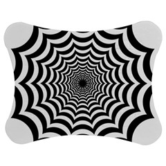 Spider Web Hypnotic Jigsaw Puzzle Photo Stand (bow)