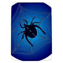 Spider On Web Flap Covers (s)