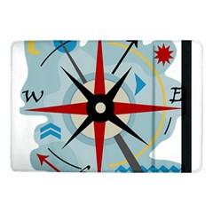 Navigation Samsung Galaxy Tab Pro 10 1  Flip Case by Valentinaart