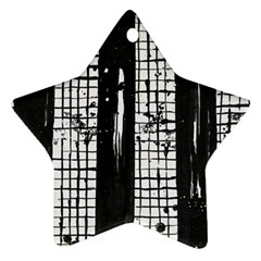 Whitney Museum Of American Art Star Ornament (two Sides)  by Amaryn4rt