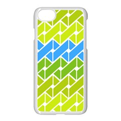 Link Pattern Apple Iphone 7 Seamless Case (white)