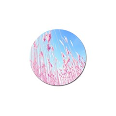 Pink Colour Golf Ball Marker by AnjaniArt