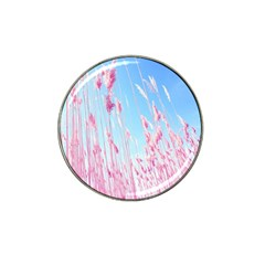 Pink Colour Hat Clip Ball Marker (4 Pack) by AnjaniArt