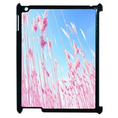Pink Colour Apple Ipad 2 Case (black) by AnjaniArt