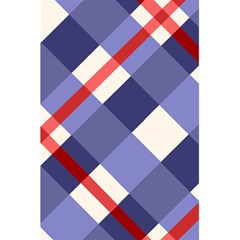 Red And Purple Plaid 5 5  X 8 5  Notebooks by AnjaniArt
