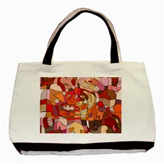 Abstract Abstraction Pattern Moder Basic Tote Bag
