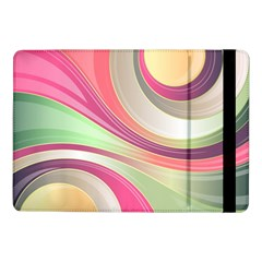Abstract Colorful Background Wavy Samsung Galaxy Tab Pro 10 1  Flip Case by Amaryn4rt