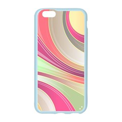 Abstract Colorful Background Wavy Apple Seamless iPhone 6/6S Case (Color) by Amaryn4rt