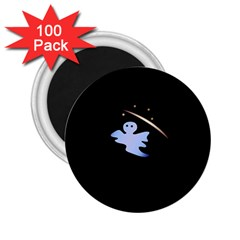 Ghost Night Night Sky Small Sweet 2 25  Magnets (100 Pack)  by Amaryn4rt