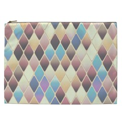 Abstract Colorful Background Tile Cosmetic Bag (xxl)