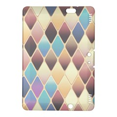 Abstract Colorful Background Tile Kindle Fire Hdx 8 9  Hardshell Case by Amaryn4rt