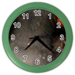 Dobie Eyes Color Wall Clocks by TailWags