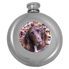 Field Spaniel Round Hip Flask (5 oz) by TailWags