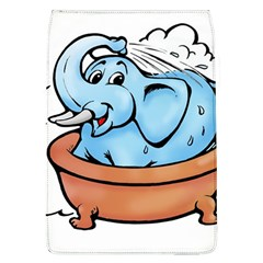 Elephant Bad Shower Flap Covers (l)