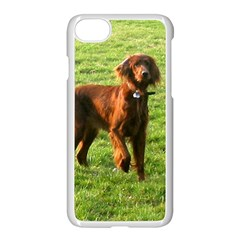 Irish Setter Full 2 Apple iPhone 7 Seamless Case (White) by TailWags