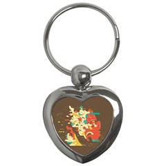 Shadow Advance Key Chains (heart)  by AnjaniArt