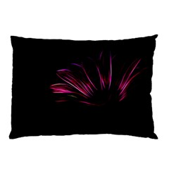 Purple Flower Pattern Design Abstract Background Pillow Case (two Sides) by Amaryn4rt