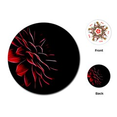 Pattern Design Abstract Background Playing Cards (round)  by Amaryn4rt
