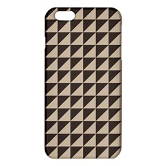 Brown Triangles Background Pattern  Iphone 6 Plus/6s Plus Tpu Case by Amaryn4rt