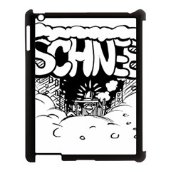 Snow Removal Winter Word Apple Ipad 3/4 Case (black) by Amaryn4rt