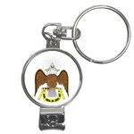 Scottish Rite Watch Nail Clippers Key Chain