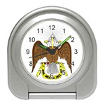 Scottish Rite Watch Travel Alarm Clock
