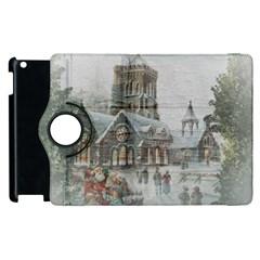 Santa Claus Nicholas Apple Ipad 3/4 Flip 360 Case by Amaryn4rt