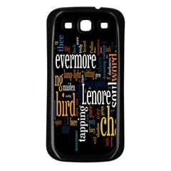Showing Picture Resolutions Samsung Galaxy S3 Back Case (black) by AnjaniArt