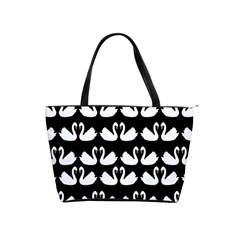Swan Animals Shoulder Handbags by AnjaniArt
