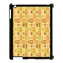 Texture Background Stripes Color Animals Apple Ipad 3/4 Case (black) by AnjaniArt