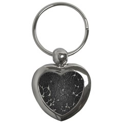 Texture Network Key Chains (heart)  by AnjaniArt
