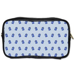 Tumblr Cute Tardis Toiletries Bags 2 Side by AnjaniArt