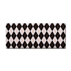Tumblr Static Argyle Pattern Gray Brown Cosmetic Storage Cases by AnjaniArt