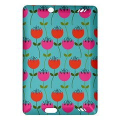 Tulips Floral Flower Amazon Kindle Fire Hd (2013) Hardshell Case by AnjaniArt