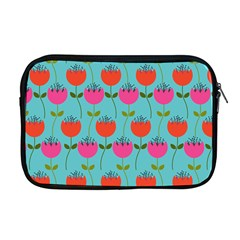 Tulips Floral Flower Apple Macbook Pro 17  Zipper Case