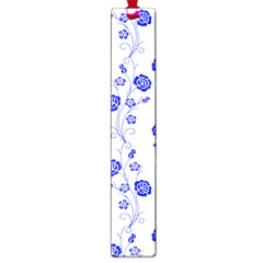 Vertical Floral Large Book Marks by AnjaniArt