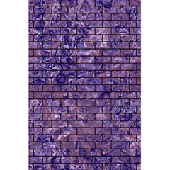 Brick1 Black Marble & Purple Marble (r) 5 5  X 8 5  Notebook by trendistuff